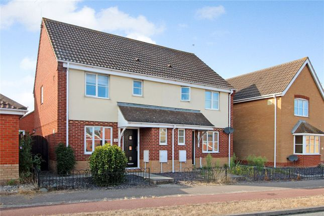 Thumbnail Semi-detached house to rent in Bentley Drive, Lowestoft, Suffolk