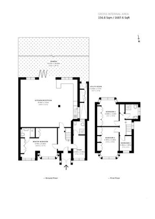 Floor Plan of Beverly Drive, Edgware HA8