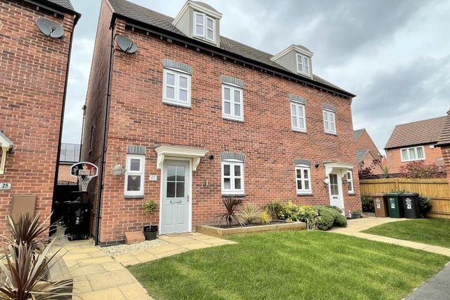 4 bed semi-detached house for sale in Lewisham Drive, Church Gresley, Swadlincote DE11
