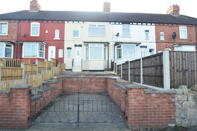 Thumbnail Terraced house to rent in Central Drive, Shirebrook, Mansfield