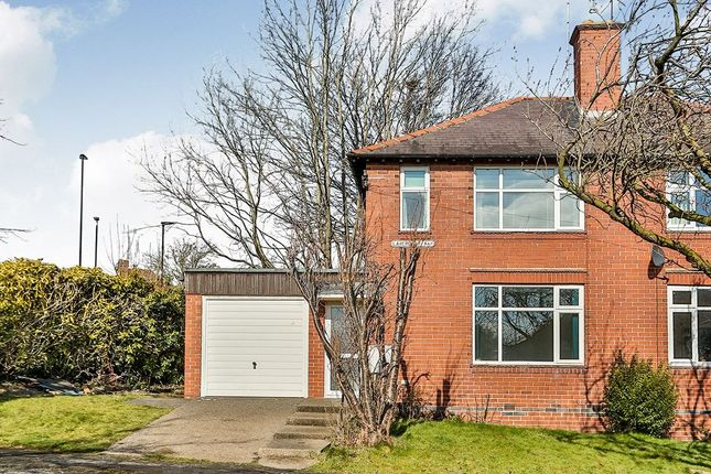 Thumbnail Semi-detached house for sale in Laverdene Way, Totley Rise, Sheffield
