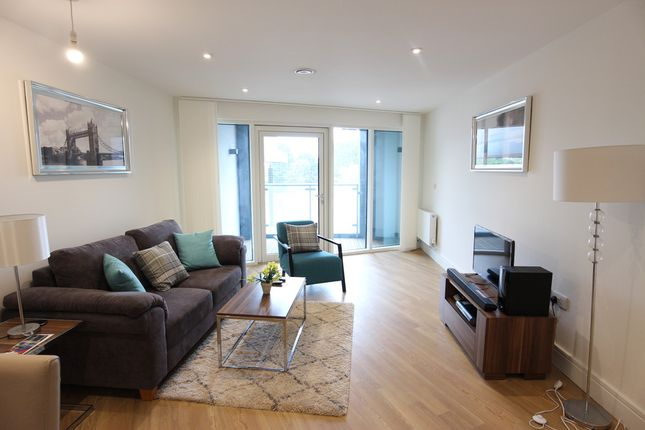 Thumbnail Flat to rent in Hippersley Point, Abbey Wood