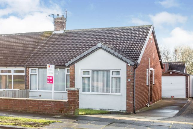 Thumbnail Semi-detached bungalow for sale in Virginia Gardens, Middlesbrough