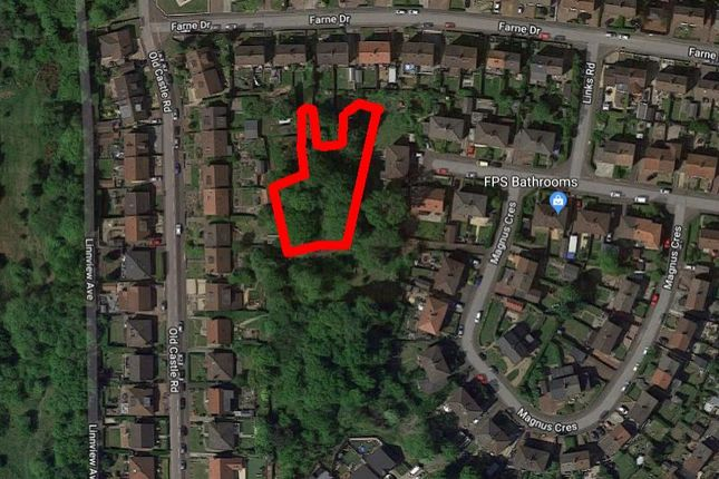 Thumbnail Land for sale in Magnus Crescent, Glasgow