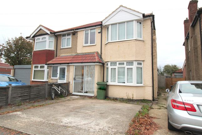 Thumbnail Semi-detached house to rent in Fairholme Crescent, Hayes