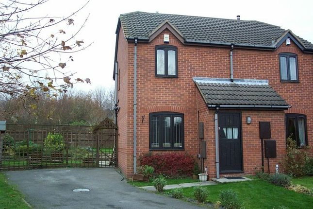 Thumbnail Semi-detached house to rent in The Pemberton, Broadmeadows, South Normanton, Alfreton