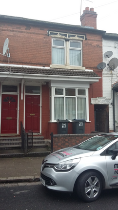 Thumbnail Terraced house to rent in Ludlow Road, Birmingham