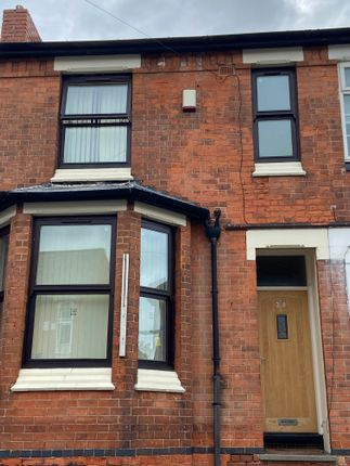 Thumbnail Terraced house to rent in Bute Avenue, Nottingham