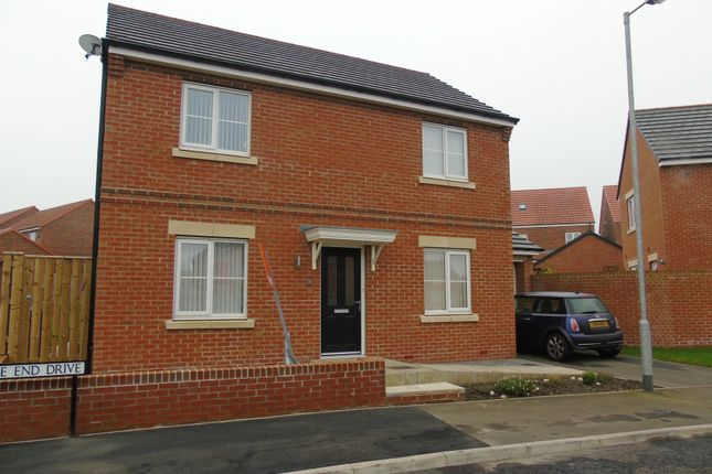Thumbnail Detached house for sale in Lambley Crescent, Seaton Delaval, Whitley Bay