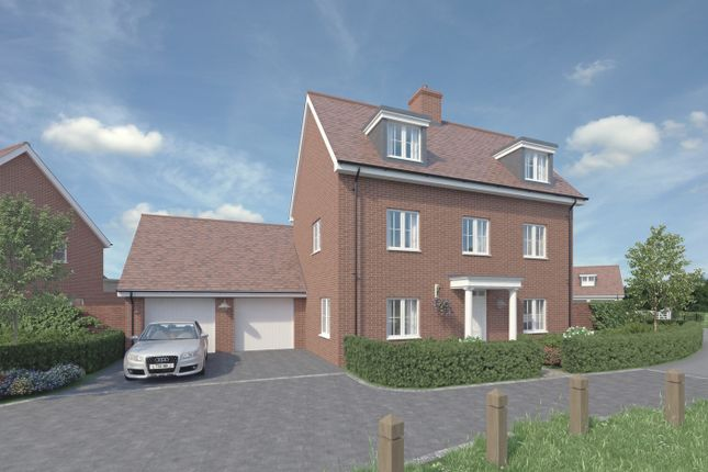 Thumbnail Detached house for sale in Beaulieu Heath, Centenary Way, Off White Hart Lane, Chelmsford, Essex
