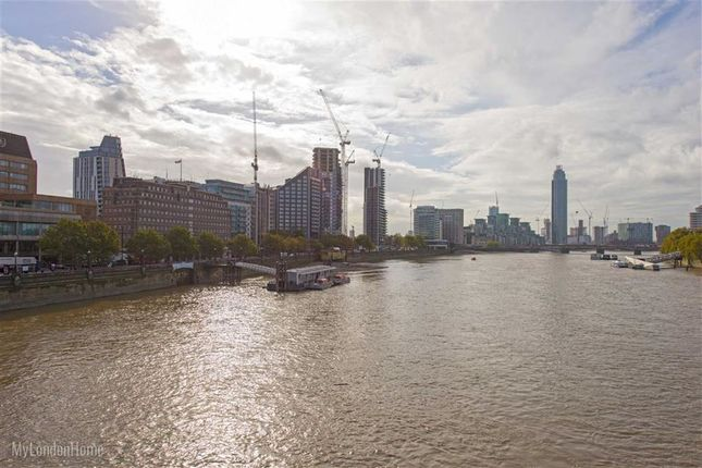 Thumbnail Flat for sale in Tower Two, Albert Embankment, London