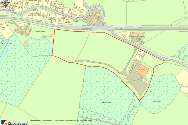 Thumbnail Land for sale in Site For Sale - The Nursery, Bowling Alley, Crondall, Surrey - Under Offer