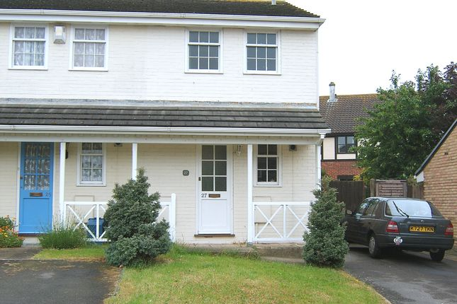 Thumbnail Semi-detached house to rent in Heritage Drive, Darland, Gillingham