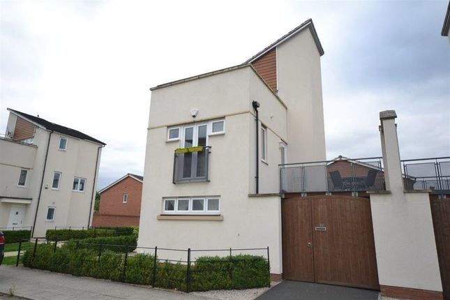 Thumbnail Detached house to rent in Watkin Road, Freemans Meadow, Leicester