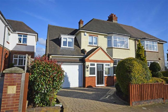 Thumbnail Semi-detached house for sale in Chipsey Avenue, Abington, Northampton