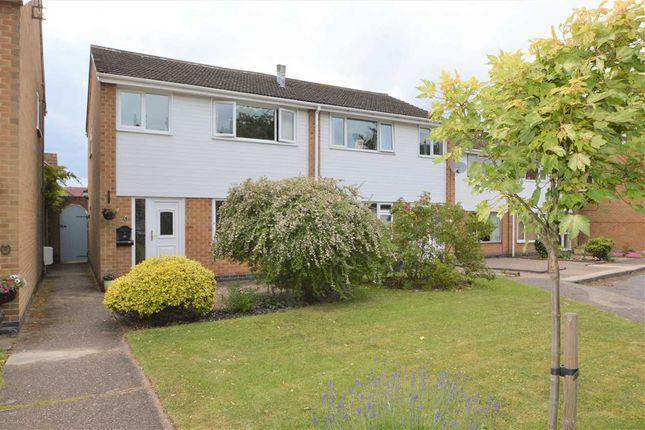 Thumbnail Semi-detached house for sale in Sutton Gardens, Ruddington, Nottingham