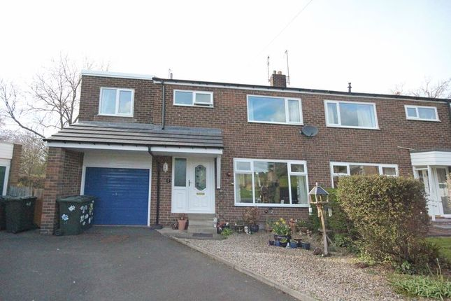 Thumbnail Semi-detached house for sale in Hall Farm Close, Stocksfield
