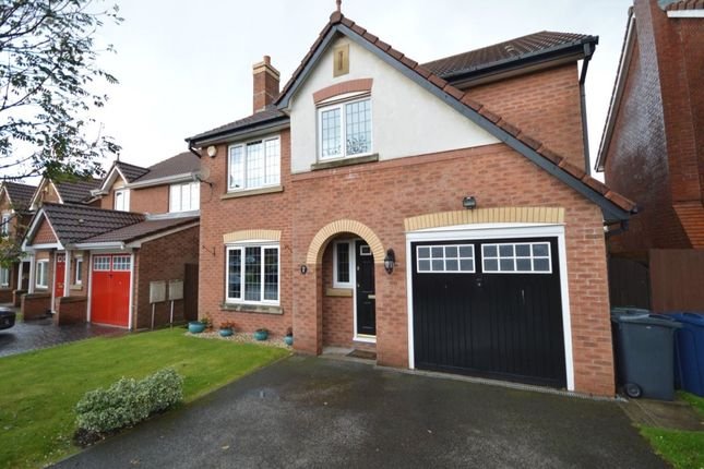 Thumbnail Detached house for sale in Fieldview, Upholland, Skelmersdale