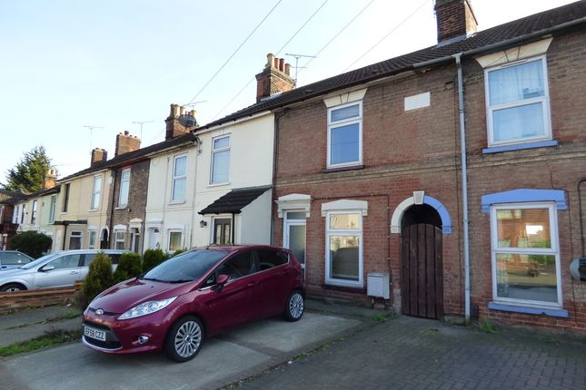 Thumbnail Terraced house for sale in Bramford Road, Ipswich, Suffolk