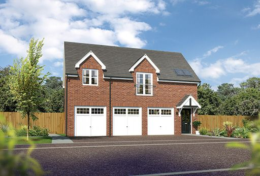 """Thumbnail Detached house for sale in """"Rydal"""" At Arrowe Park Road, Upton, Wirral CH49, Upton, Wirral,"""