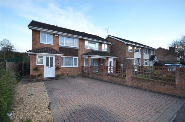 Thumbnail Semi-detached house for sale in Britten Road, Basingstoke, Hampshire