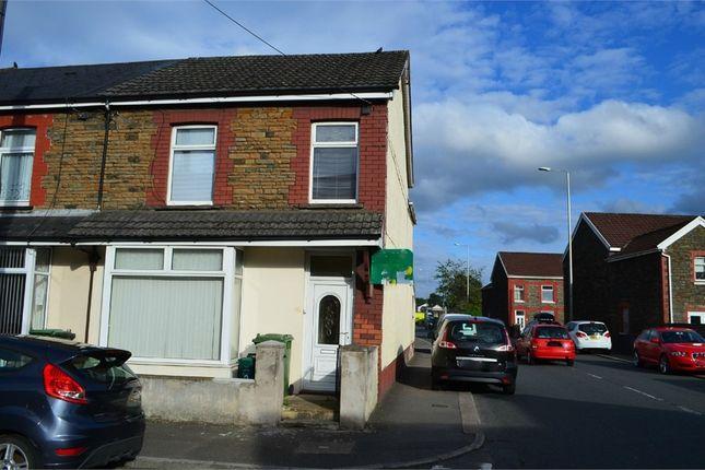 Thumbnail End terrace house for sale in Tudor Street, Rhydyfelin, Pontypridd, Mid Glamorgan