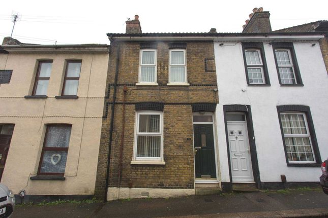 Thumbnail Terraced house to rent in Wykeham Street, Strood