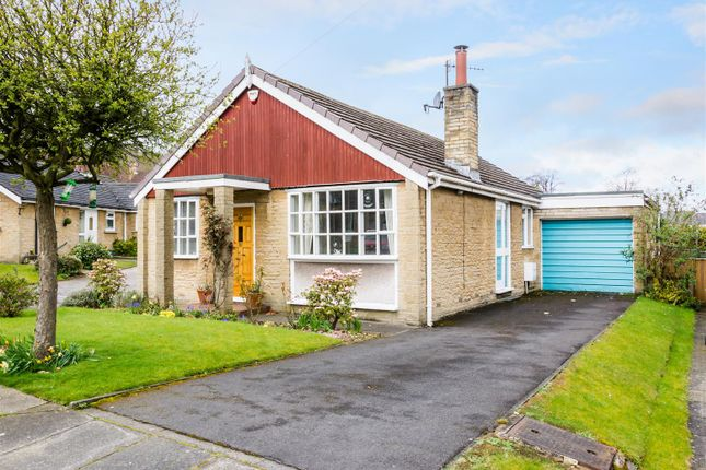 Thumbnail Detached bungalow for sale in Park Square, Pool In Wharfedale, Otley