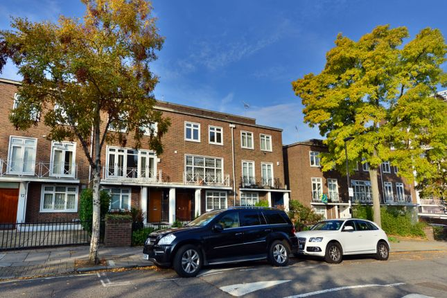 Terraced house to rent in Marlborough Hill, St John's Wood, London