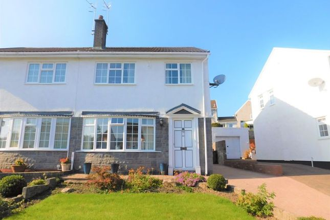 Thumbnail Semi-detached house for sale in Trinity Close, Ystrad Mynach, Hengoed