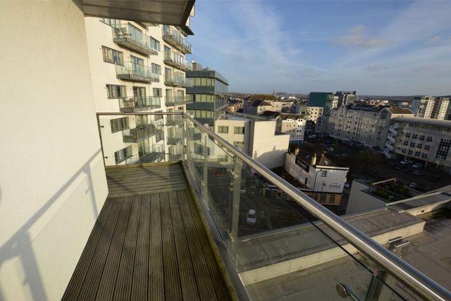 Balcony of Exeter Street, Plymouth, Devon PL4