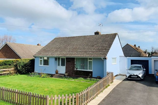 Thumbnail Detached bungalow for sale in Orchard Close, Trull, Taunton