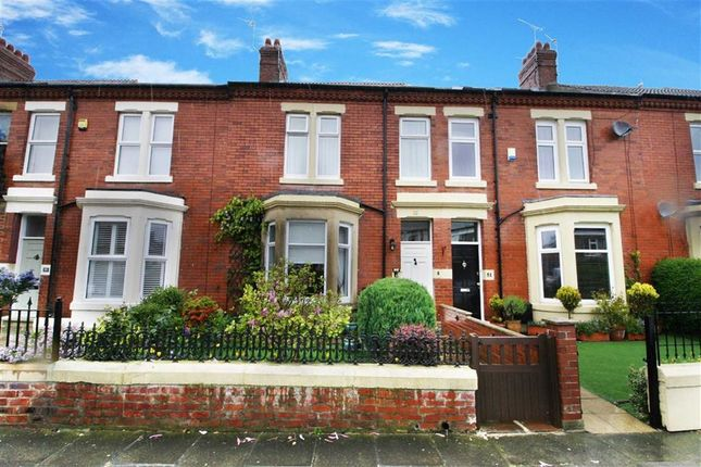 Thumbnail Terraced house to rent in Roxburgh Terrace, Whitley Bay, Tyne And Wear