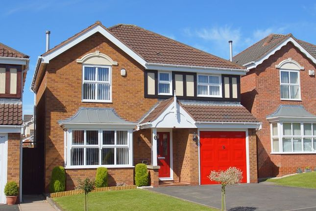 Thumbnail Detached house for sale in Butlers Hill Lane, Brockhill, Redditch, Worcestershire