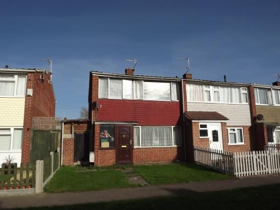 Thumbnail End terrace house for sale in Emerald Close, Gloucester, Gloucestershire