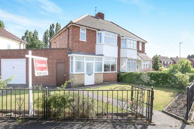 Thumbnail Semi-detached house for sale in Colman Avenue, Wednesfield, Wolverhampton