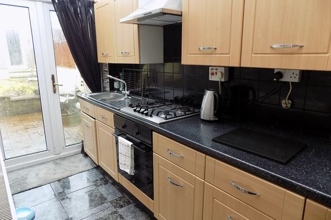 L-Shaped Kitchen of Senghenydd Street, Treorchy, Rhondda, Cynon, Taff. CF42