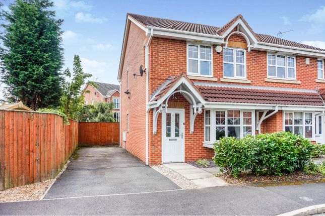 Thumbnail Semi-detached house for sale in Longacre, Wigan