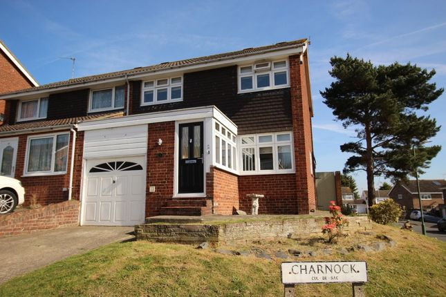 Thumbnail Semi-detached house for sale in Charnock, Swanley