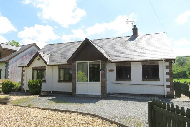 Thumbnail Detached bungalow for sale in Ger Yr Afon, Tregaron, Ceredigion