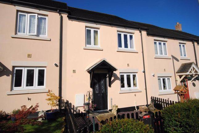 3 bed terraced house to rent in Hooper Close, Okehampton, Devon EX20