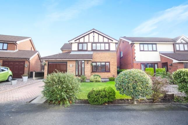 Thumbnail Detached house for sale in Pine Street, Woodley, Stockport, Cheshire