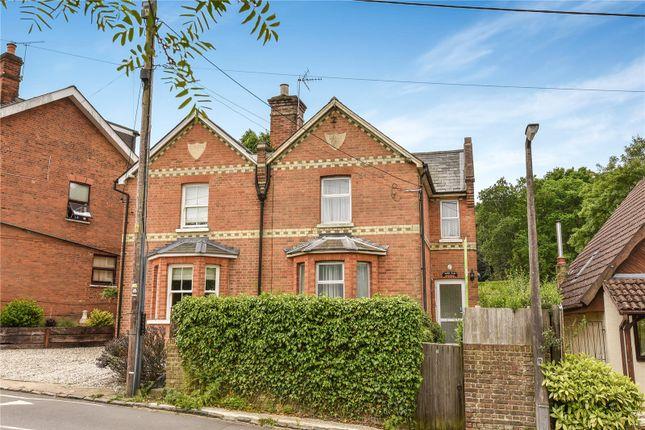 Thumbnail Semi-detached house for sale in Victoria Villas, High Street, Little Sandhurst, Sandhurst
