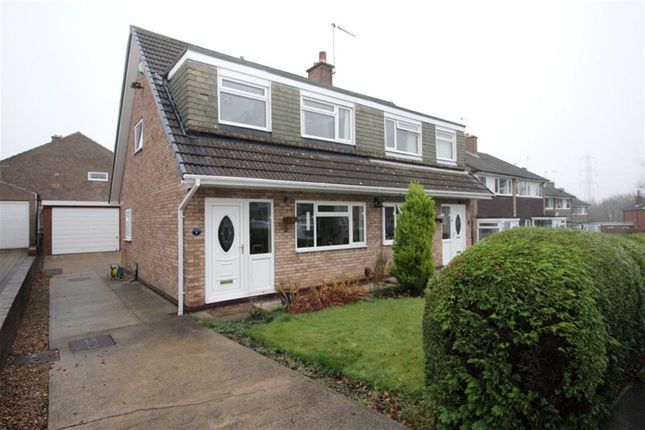 Thumbnail Semi-detached house for sale in Victoria Grove, Horsforth