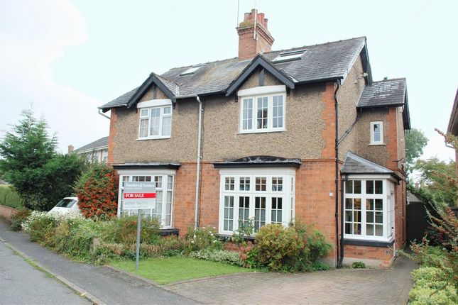 Thumbnail Semi-detached house for sale in Cross Road, Alcester