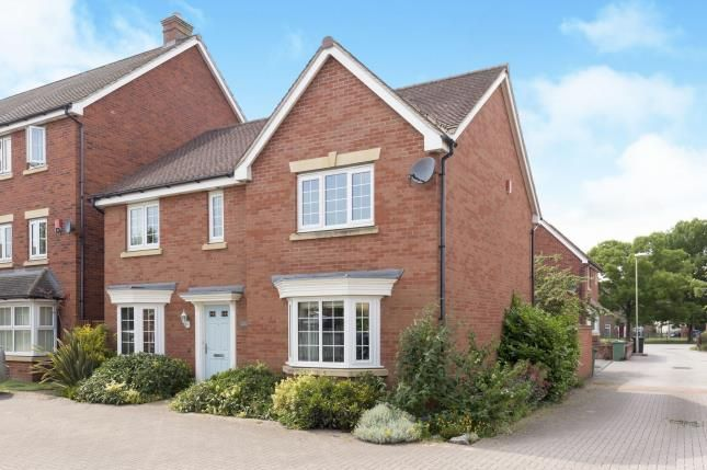 Thumbnail Detached house for sale in Woodvale Kingsway, Quedgeley, Gloucester, Gloucestershire
