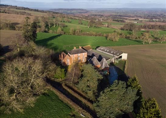 Thumbnail Detached house for sale in Tarrington, Hereford, Herefordshire