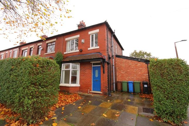 Thumbnail Semi-detached house for sale in Broadstone Hall Road South, Stockport