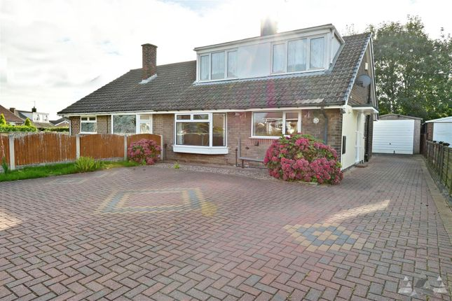Thumbnail Detached bungalow to rent in Laburnum Court, Calow, Chesterfield, Derbyshire