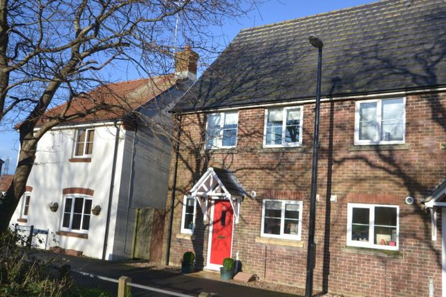 Thumbnail Semi-detached house for sale in Brewer Walk, Crossways, Dorchester